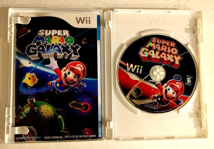 Super Mario Galaxy Game for Wii #Nintendo If you have any questions or concerns about your item(s) upon receipt, please message me so that I may address them - Your satisfaction is my HIGHEST priority!  Payment by PayPal, Please.  INTERNATIONAL PURCHASERS - You are responsible for all customs and shipping fees, internationally - International purchases are sent via eBay Global Shipping program - mail time can take longer when going overseas. Thank you for coming by!  - KimmyT  Item must b