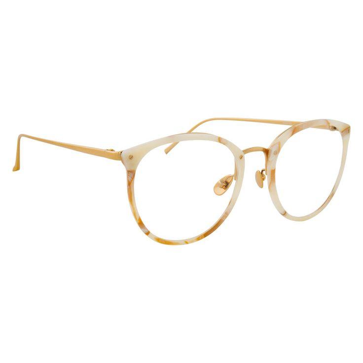 9a78a3512fd8 Linda Farrow 251 C45 Oval Optical Frame