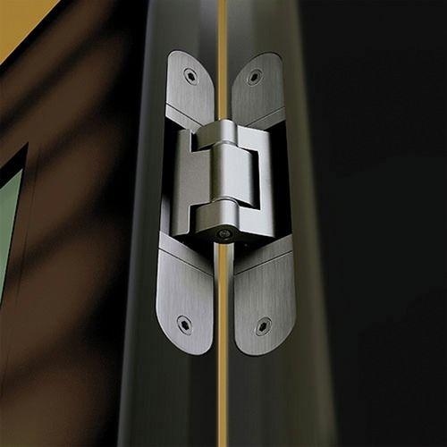 Paumelles techniques invisibles Tectus 3D pour portes lourdes