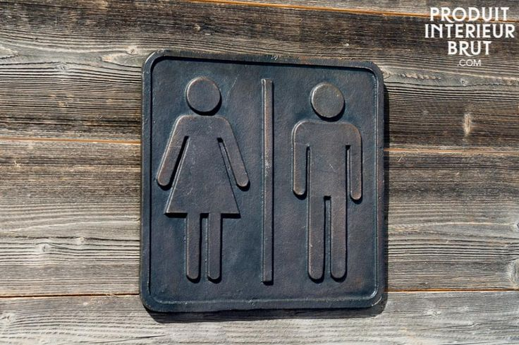 17 meilleures id es propos de pictogramme toilette sur - Plaque de porte wc design ...