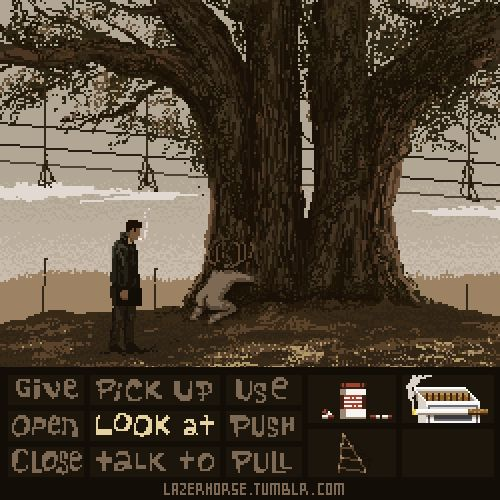 """DD #45: """"Lucasarts presents: True Detective"""" Anyone play Day of the Tentacle or Grim Fandango? Tim Schafer is the man. Oh, and True Detective was good too."""