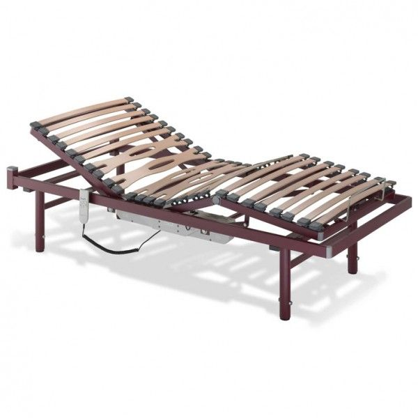 SOMIER ELÉCTRICO ARTICULADO - REF: VIANA: Es un somier de 4 planos y 3 articulaciones perfecto para convertirse en una cama ajustable para personas con discapacidad .