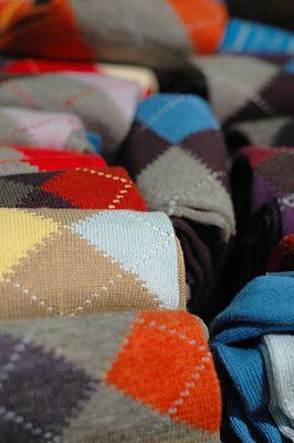 argyle socks. essential.