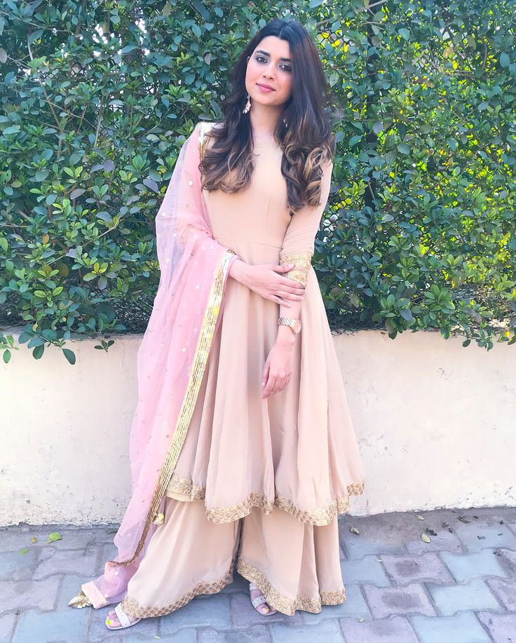 """14.4k Likes, 336 Comments - Nimrat Khaira (@nimratkhairaofficial) on Instagram: """"I always love to wear pastel shades ❤️❤️ ___________________This beautiful suit customised by my…"""""""
