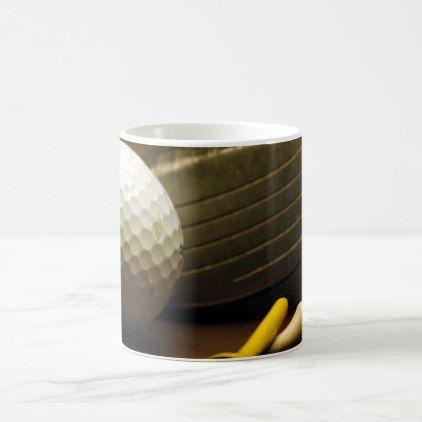 Golf Driver Ball And Tees Photo On Coffee Mug - decor gifts diy home & living cyo giftidea