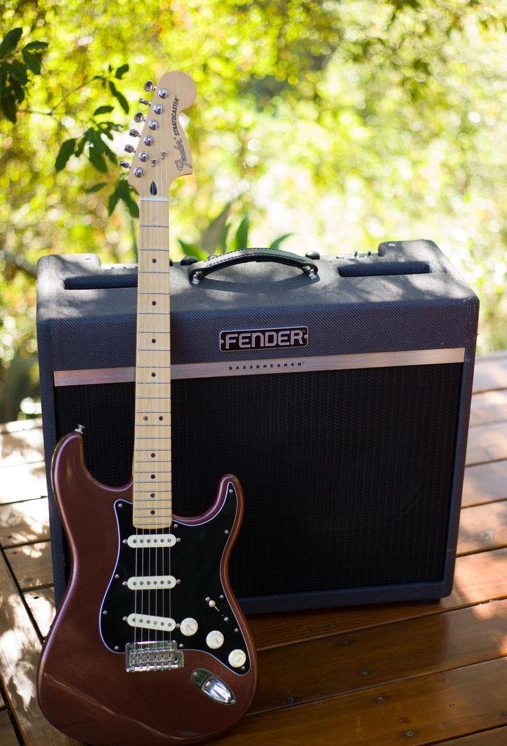 Fender Deluxe Stratocaster + Bassbreaker Amp