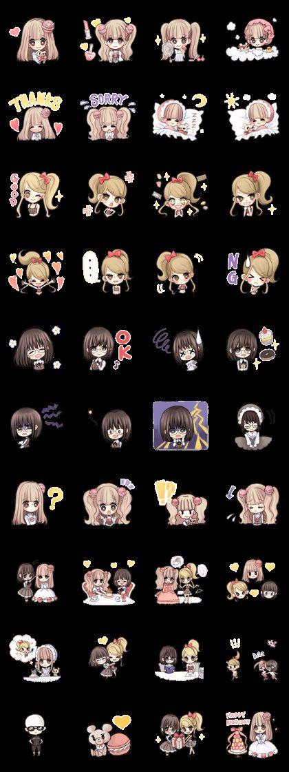 Princess Macaroon -happy days- - LINE Creators' Stickers