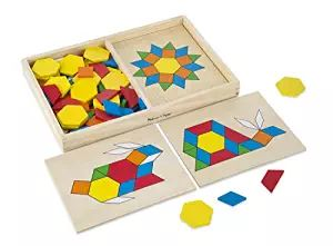 Pattern Blocks and Boards @trendingtoystore.com