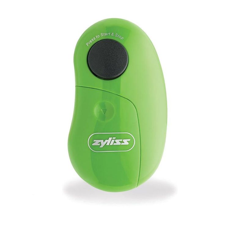 Engineered to streamline the tiring (and sometimes difficult) chore of opening cans, the Zyliss EasiCan Electric Can Opener opens cans of any size with just the