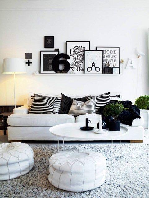Zdjęcie: Salon styl Skandynawski