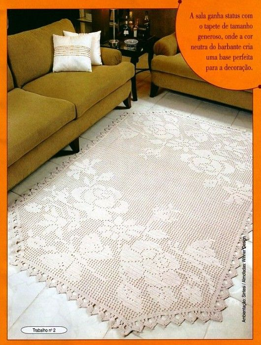 130 best images about Häkeln Teppich  crochet rug on