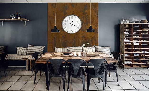 wandfarbe mit rost effekt einfach streichen rostfarbe. Black Bedroom Furniture Sets. Home Design Ideas