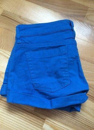 Kup mój przedmiot na #vintedpl http://www.vinted.pl/damska-odziez/szorty-rybaczki/13094137-krotkie-niebieskie-spodenki-z-mango