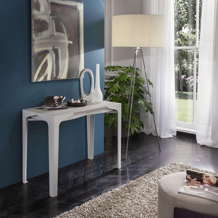 Une petite console? Non! Cette table gain de place peut accueillir jusqu'à 14 personnes! A découvrir chez #Zendart #Design