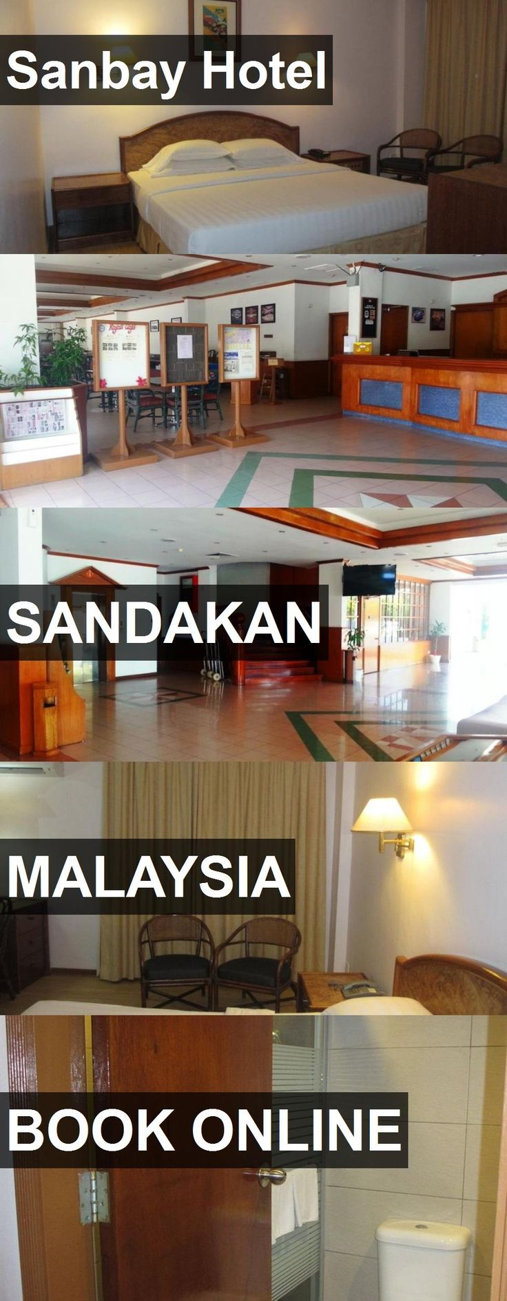 Sanbay Hotel in Sandakan, Malaysia. For more information, photos, reviews and best prices please follow the link. #Malaysia #Sandakan #travel #vacation #hotel