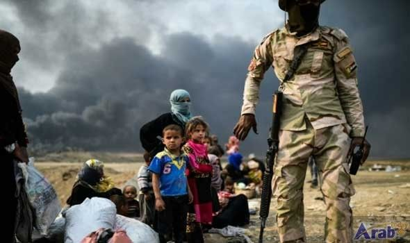 Coalition huddles as forces inch towards Mosul