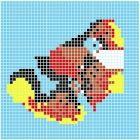 Mozaika Dunin Q Design Q Koi 98.5x98.5 cm
