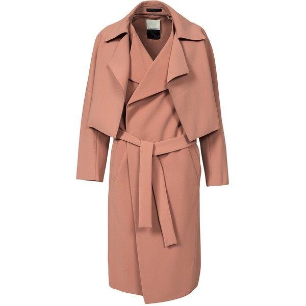by malene birger pasinios coat maentel frauen mantel beige mantel