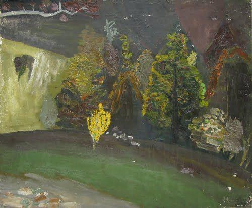 Horia Bernea, Spring Night, 1965