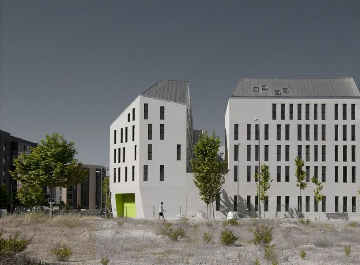Social Housing in Madrid / Iñaqui Carnicero Architecture Office