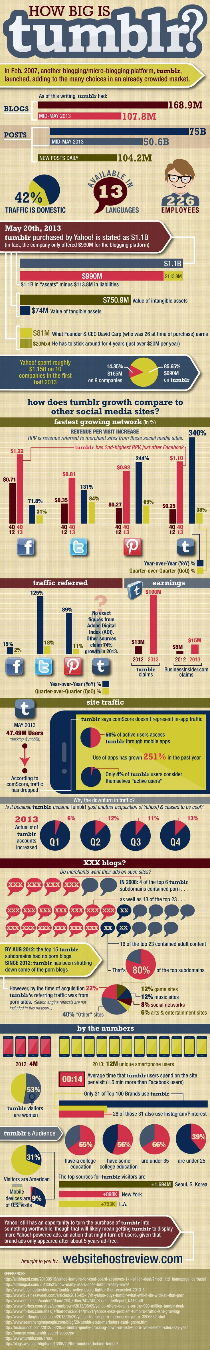 How Big is Tumblr? [Infographic]