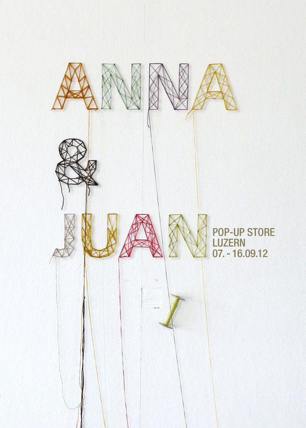 Anna  Juan Pop-Up Store 2012, 7. - 16. September 2012, Lucerne with products of: Anna  Juan, Cornblume - Cornelia Blümli, Anna Jurt, Walter Vintage Moebel  Accessoires and K.erA.mik - Käthi Amrein.