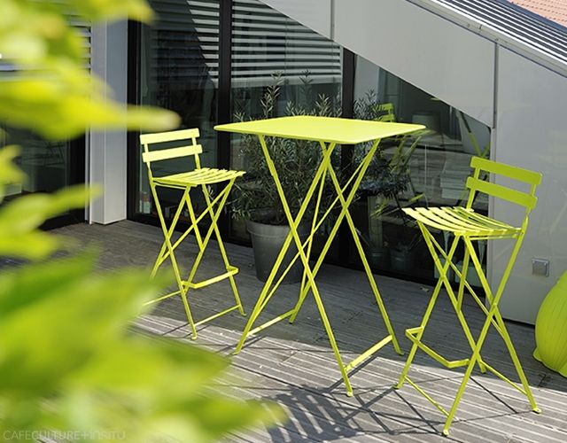 BISTRO FOLDING BAR STOOL   Cafe Culture + Insitu   High Stools For The Roof  Terrace