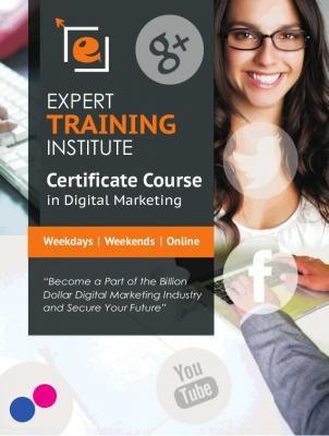 Get digital marketing certification from a leading institute for digital marketing - India, Other Countries - Free Business Classified Ads