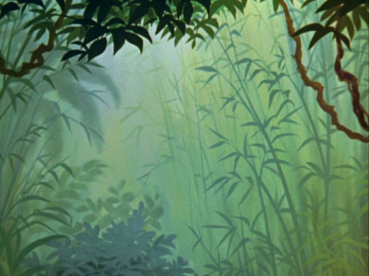 Animation Backgrounds: THE JUNGLE BOOK