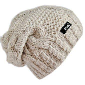 Love slouchy  beanie hats in winter!