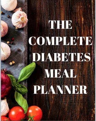 Complete Diabetes Meal Planner eBook
