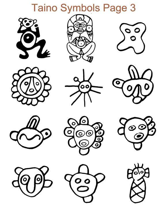 Taino Symbols Art Amp Amp Sculpture Pinterest