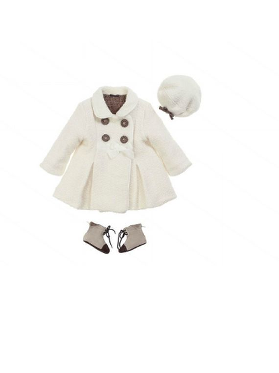 Fendi Fall/Winter 2012 Baby Girl Clothing Collection. Too cute. If I could ever spend that much on a kids outfit. They will outgrow in a month