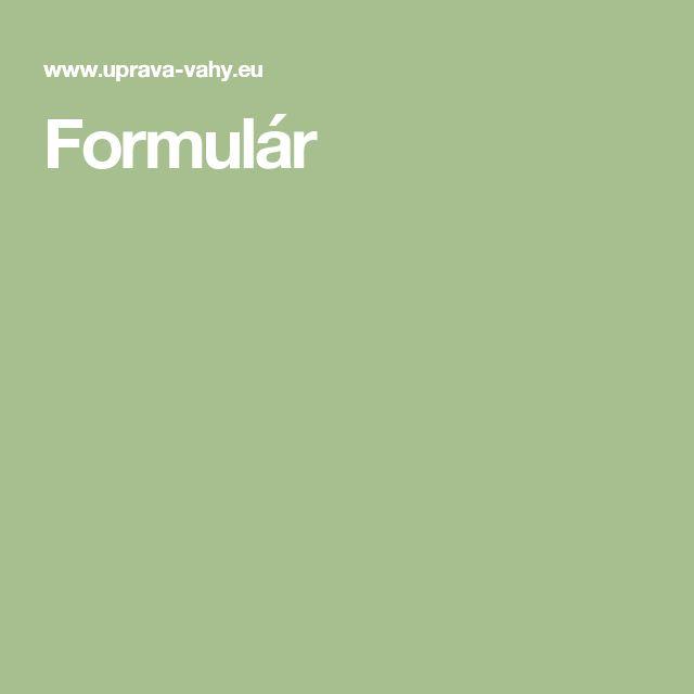 Formulár
