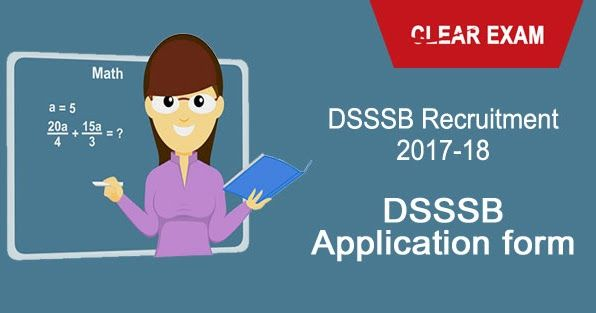 Delhi Subordinate Services Selection Board has discharged the DSSSB Online Application Form on 20 December 2017. The notice has been discharged for the choice of PGT, TGT, PRT and different educators for the Delhi Government Schools. In the notice,the specialist has approached the candidates for 9232 educating opportunities. Candidates can fill the online application shape from fifth January 2018 to 31st January 2018. #DSSSBOnlineForm #DSSSBApplyOnline #DSSSBOnlineApplicationForm