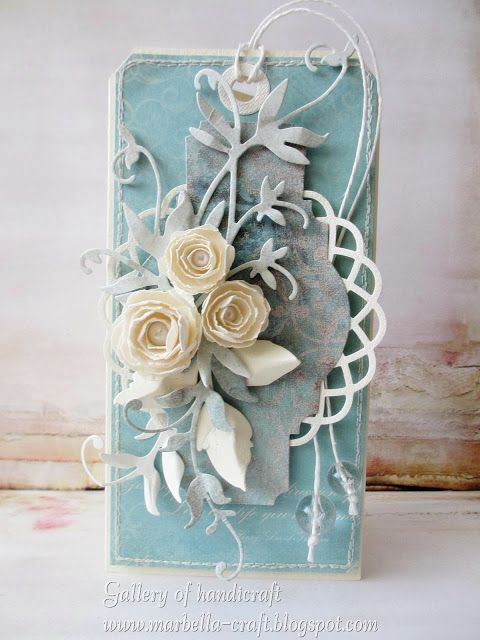 Gallery of handicrafts: turkus, kawa, ecrue