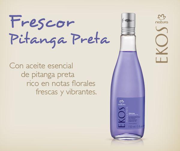 Empezá el día disfrutando las notas frescas y florales del Frescor Natura Ekos Pitanga Preta.  http://bit.ly/FrescorEkosPP_ARG