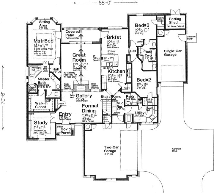 13 best small house plans images on pinterest | house floor plans
