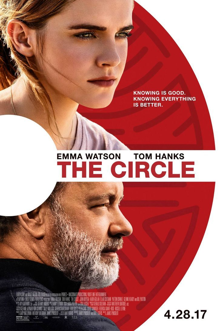 Nice Movies to watch: THE CIRCLE starring Emma Watson & Tom Hanks | In theaters April 28, 2017... My movies to see