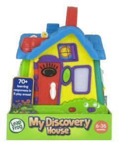 Learning Toys For 3 year Olds: LeapFrog My Discovery House This toy is great for fine motor skills. Pushing, sliding. closing and opening all require fine motor skills. http://bit.ly/1v0Lh4Z