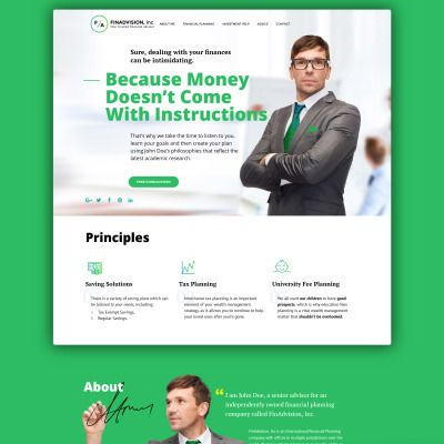492 best images about Website Template on Pinterest