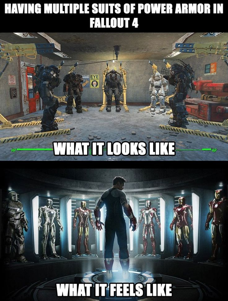 If Only the Fusion Core Were On the Chest Plate... #Fallout4