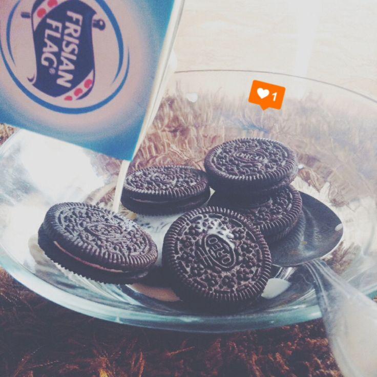 Milk+Oreo!