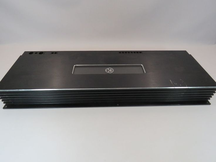 Memphis Car Audio 16-MC5.700 Amplifier 5 Channel 500x1 50W x4 #Memphis