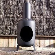 Hand made Decca Chiminea up-cycled from a 15kg gas bottle