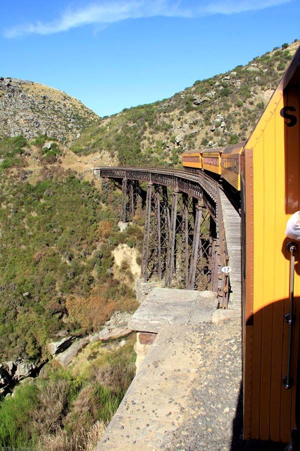 Dunedin Taieri Gorge Train Viaduct, Otago, New Zealand
