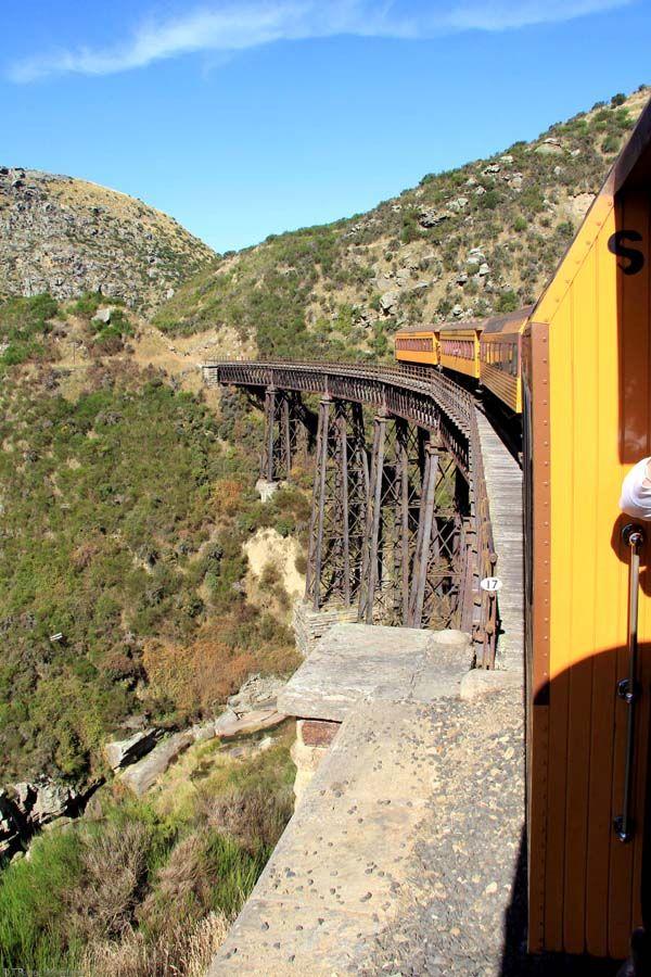 Dunedin Taieri Gorge Train Viaduct, Otago, New Zealand