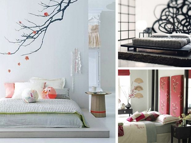 La camera da letto in stile giapponese
