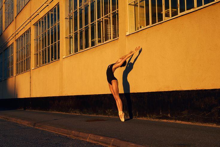 ballerina in Frihamnen Nr.1 by Max Modén Fine art print at maxmadegallery.com