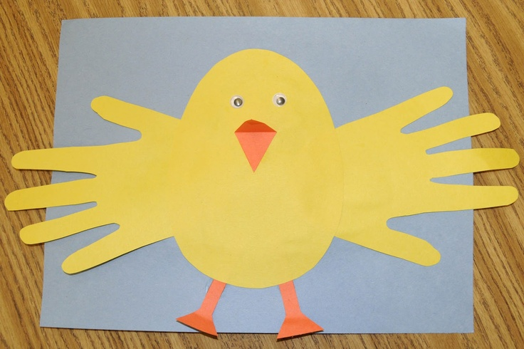 Easter Chicks Arts and Crafts